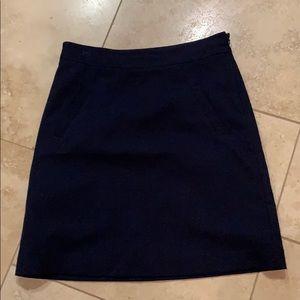 Dresses & Skirts - Navy felt skirt